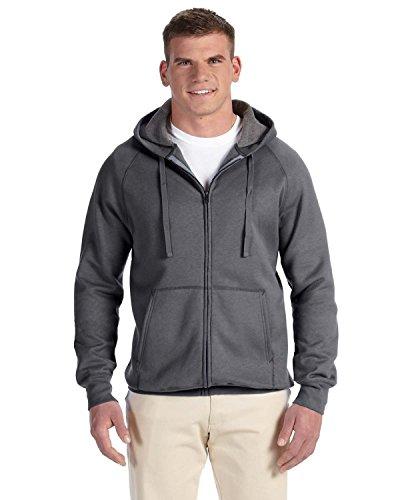 hanes-erwachsene-nano-schwitzt-zip-hoodie-sweatshirt-gr-l-grau-charcoal-heather
