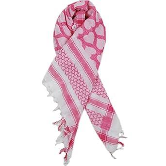Sillly Yogi Heart arafat scarf-Pink-one size