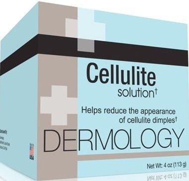 Dermology Cellulite Reduction Cream - Reduce Appearance of Cellulite, Get Rid of Cellulite Dimples ~ 4 oz. Tube