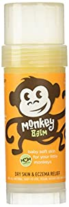 Balmers Monkey Balm, Organic Sea Buckthorn Eczema Remedy Balm, 2-ounce