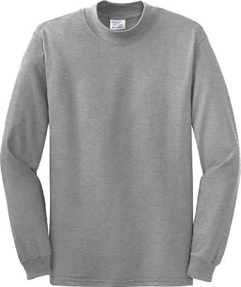 Port & Company Mock Turtleneck Shirt-XL (Jet Black)