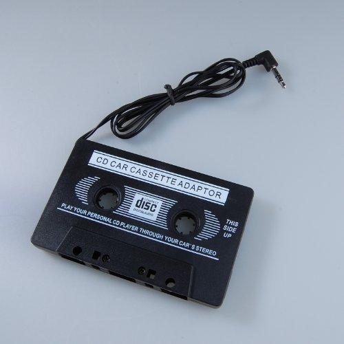 LanLan Universal Car Audio Cassette Adapter, Black