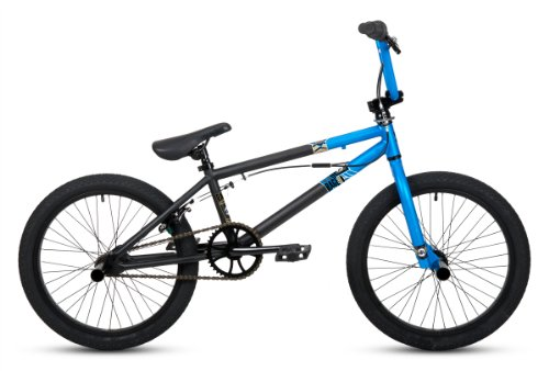 Huffy Boy's Rage BMX Bike, Matte Blue/Black, 20-Inch