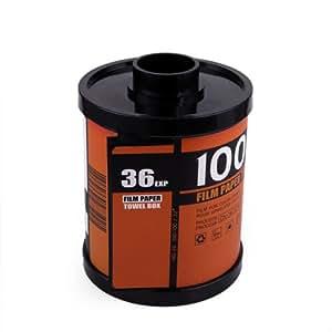 HDE Novelty Camera Roll Toilet Paper Cover Holder Film Canister Tissue Dispenser Box