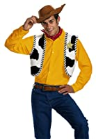 Disguise Men's Disney Pixar Toy Story and Beyond Woody Adult Kit from Disguise Costumes