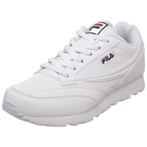 Fila Men's Classico Sneaker,White/Peacoat/Chinese Red,11 M US