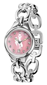 Wyoming Cowboys Eclipse Ladies Watch with Mother of Pearl Dial by SunTime