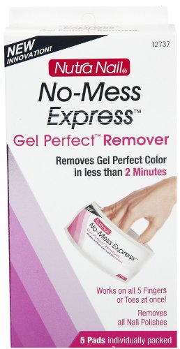 Nutra Nail No Mess Express Gel Perfect Remover, 5 Count (Gel Nail Container compare prices)