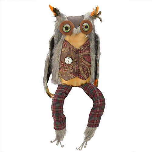 265-Smart-Einstein-Owl-Decorative-Halloween-or-Thanksgiving-Bird-Figure