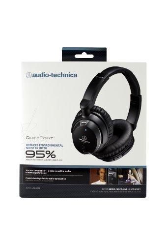 Audio Technica 铁三角 ATH-ANC9 密闭动圈型 便携降噪耳机图片