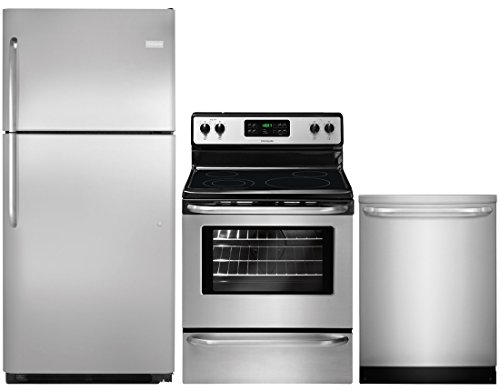 Frigidaire 3-Piece Stainless Steel Kitchen Package with FFTR2021QS 30