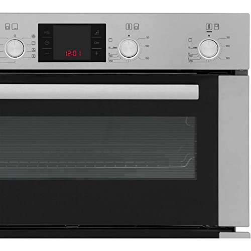 Bosch Serie 6 HBN53R550B Built Under Double Oven - Brushed Steel. It Will Perfeclty Look Great Built Into Your Kitchen