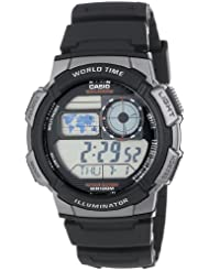 Casio AE1000W 1BVCF Black Resin Digital