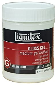 Liquitex Professional Gloss Gel, Medium, 8 Ounce