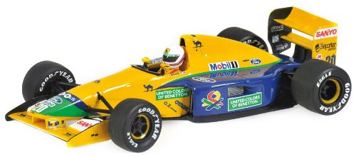 benetton-ford-b191b-92-m-brundle