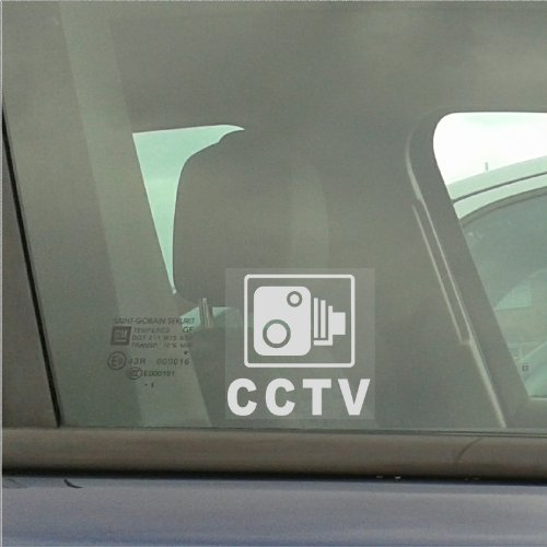 c38a726232 Buy Cheap 4 x 87x87mm CCTV Camera Security Window Stickers-CCTV Sign ...