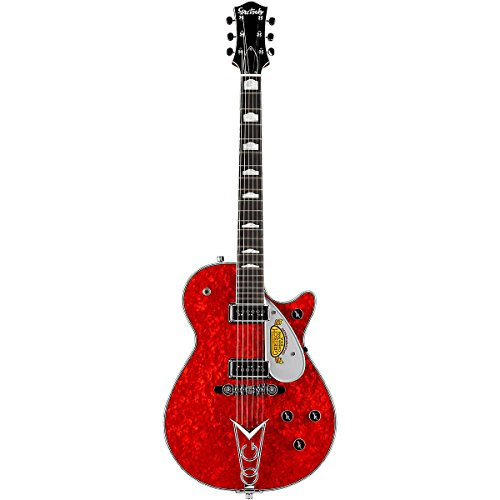 Gretsch Custom Shop 10Th Anniversary Duo Jet Nos Electric Guitar Red Moto