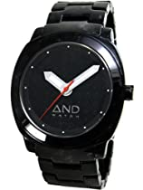 AND Watch Socrates Unisex Watch (Black)