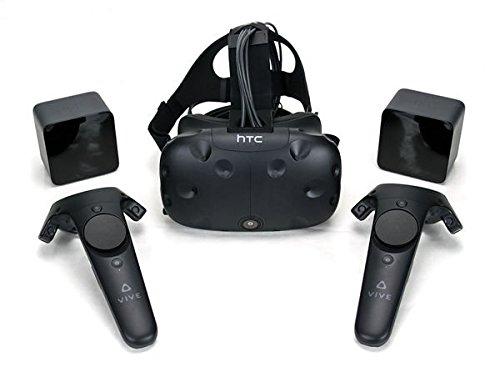 HTC Vive バーチャルリアリティ ヘッドマウントディスプレイ VRヘッ...