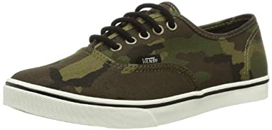Vans Unisex - Adult U AUTHENTIC LO PRO  (CAMO) MILITARY Low Green Grün ((Camo) military) Size: 35