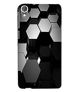 Fuson 3D Printed Pattern Designer Back Case Cover for HTC Desire 820 - D1053