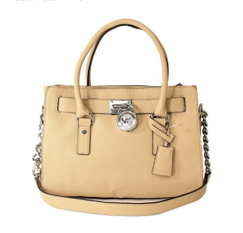 MICHAEL Michael Kors Hamilton EW Satchel Nude