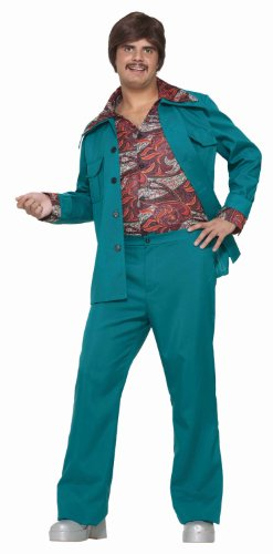 Forum Novelties Men's 70's Disco Fever Costume Leisure Suit