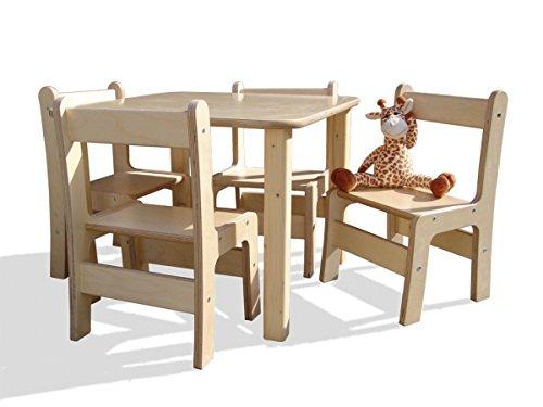 Kindersitzgruppe – Kindermöbel – Tisch und 4 Stühle – Direkt vom Hersteller günstig online kaufen