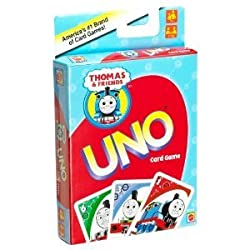 THOMAS THE TANK TRAIN ENGINE AND FRIENDS MY FIRST UNO
