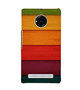GADGET LOOKS PRINTED BACK COVER FOR MICROMAX YU YUPHORIA MULTICOLOR