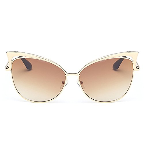 ClearSky Cat Eye Flash Mirror Vintage Design Personality Women's Sunglasses (What Are The Advantages O compare prices)