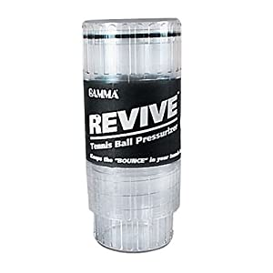 Buy Gamma Revive Tennis Ball Pressurizer, Clear by Gamma