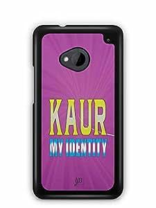 YuBingo Kaur, My Identity Designer Mobile Case Back Cover for HTC One M7