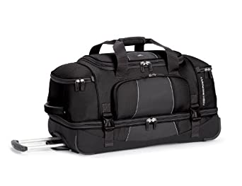 High Sierra Elevate 28 Drop-Bottom Wheeled Duffel by High Sierra
