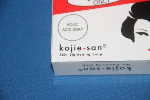 Kojie San Kojic Acid Skin Whitening and Lightening Soap 2 bars X 65 grams