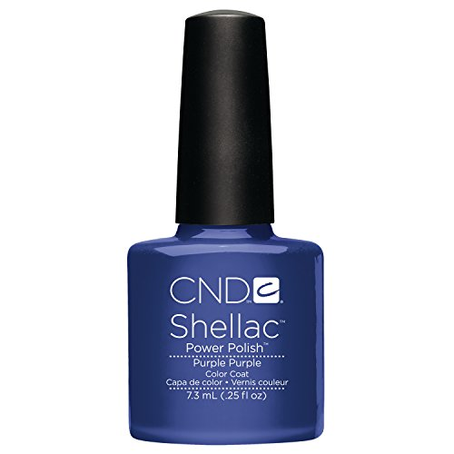 Creative Nail Shellac, Purple Purple, 0.25 Fluid Ounce