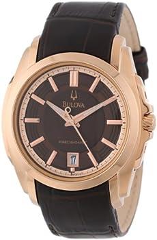 Bulova 97B110 Longwood Quartz Rose Gold Men's Watch