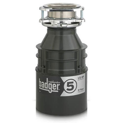 InSinkErator Badger 5, 1/2 HP Food Waste Disposer (Insinkerator Badger 1 1 3 Hp compare prices)