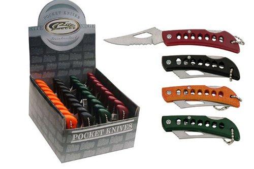 SZCO Supplies Assorted Keychain Knives (36-Piece)     SZCO Supplies