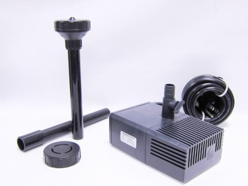 Beckett Small Fountain Pump Kit (for water gardens, ponds, container gardens, NZK140)