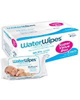 WaterWipes Super Value Box - Pack of 9, Total 540 Baby Wipes