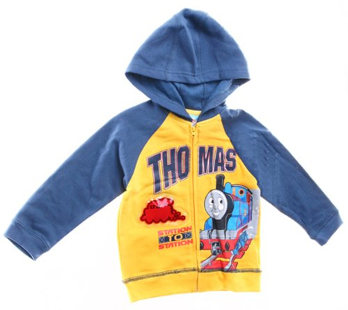 Thomas the Train Infant Boys Hooded Jacket with Zipper (24Mos)