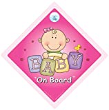 Baby On Board Baby on Board Sign Pink Bricks Baby on Board Car Sign Baby Girl On Board Decal Baby on Board Baby Car Sign Baby Sign Bumper Sticker Maternity Pregnancy