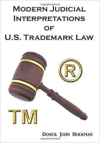 Modern Judicial Interpretations of U.S. Trademark Law