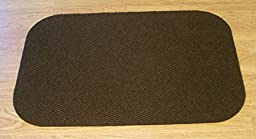 Landing Mat for Essential Carpet Stair Treads - Style: Berber - Color: Brown - Size: 24\