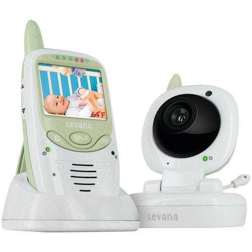 NEW LEVANA LV-TW501 SAFE & SEE DIGITAL WIRELESS VIDEO BABY MONITOR (OBS SYSTEMS/HOME SECURITY)
