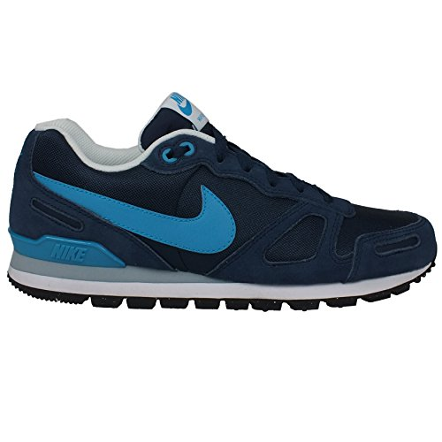 Nike Air Waffle Trainer, Herren Sneakers, Blau (Midnight Navy/Bl Lgn-White-Blk), 47.5 EU