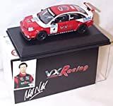 oxford 2008 BTCC vauxhall vectra VXR matt neal racing car 1.43 scale diecast model