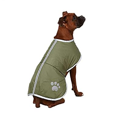 Zack & Zoey Polyester Nor'easter Dog Blanket Coat