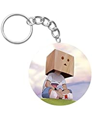 Alone | ShopTwiz Printed Circle Key Ring